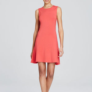 Tahari Peach Briza Dress